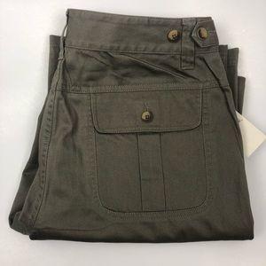 Filson Womens Prairie Cargo Pant Olive Green 8 NWT